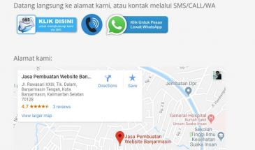 Cara Mudah Memasukkan Google Maps Ke Dalam Website